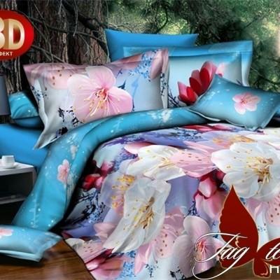 Комплект постельного белья поликоттон «XHY355» полуторный | TAG