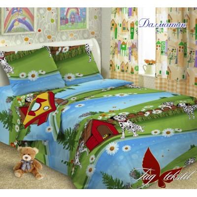 Комплект постельного белья ранфорс «Далматин» полуторный | TAG