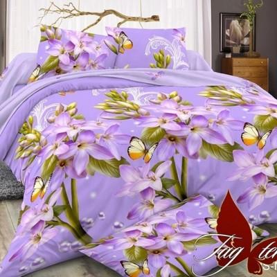Комплект постельного белья полисатин «PS-NZ1723» TAG