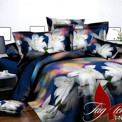 Комплект постельного белья полисатин «PS-NZ 2481» TAG