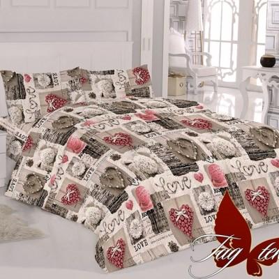 Комплект постельного белья ранфорс «R015» TAG