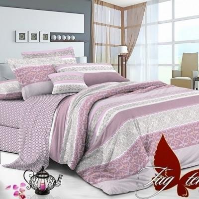 Комплект постельного белья сатин люкс «S-099» TAG
