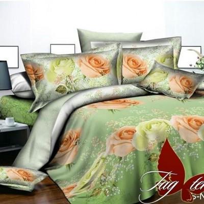 Комплект постельного белья полисатин «PS-NZ 2482» TAG