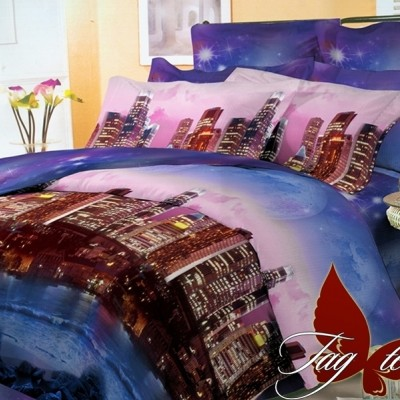 Комплект постельного белья поликоттон «BR4208» TAG