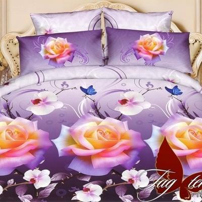 Комплект постельного белья полисатин «PS-NZ1960» TAG