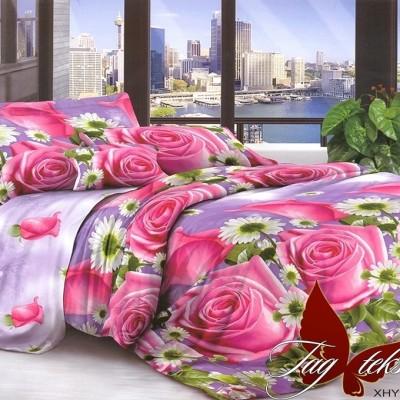 Комплект постельного белья поликоттон «XHY1468» двуспальный | TAG