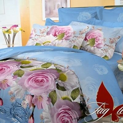 Комплект постельного белья поликоттон «BR3300» TAG