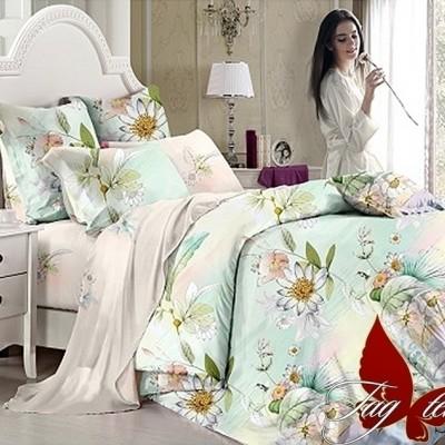 Комплект постельного белья сатин люкс «S-104» TAG