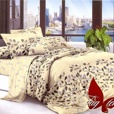 Комплект постельного белья сатин люкс «S-146» TAG