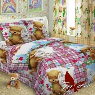Комплект постельного белья ранфорс «Детство» полуторный | TAG