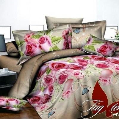 Комплект постельного белья полисатин «PS-NZ 2484» TAG