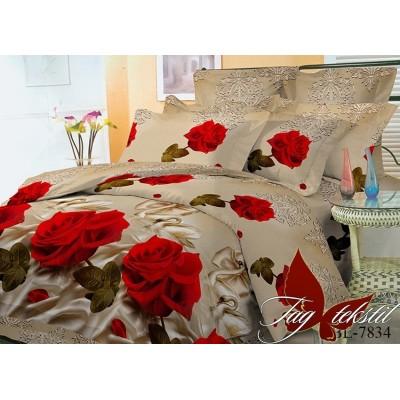 Комплект постельного белья поликоттон «BL7834» TAG
