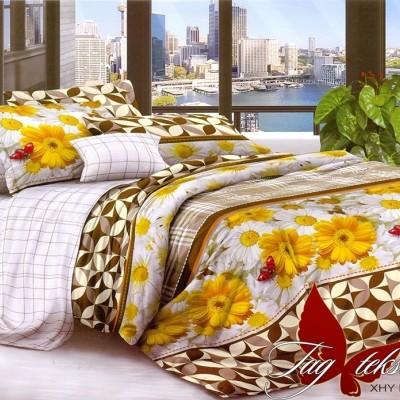 Комплект постельного белья поликоттон «XHY2164» TAG