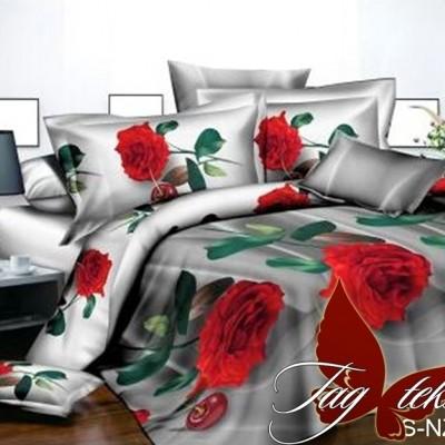 Комплект постельного белья полисатин «PS-NZ 2486» TAG