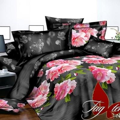 Комплект постельного белья полисатин «PS-NZ 2475» TAG
