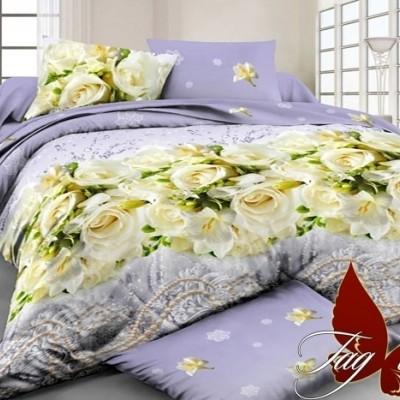 Комплект постельного белья поликоттон «BR7890» TAG
