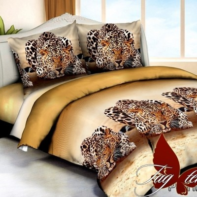 Комплект постельного белья полисатин «PS-HL217» семейный | TAG