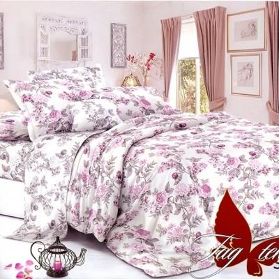 Комплект постельного белья сатин люкс «S-136» TAG