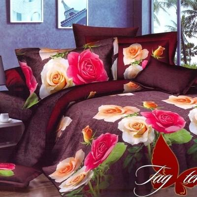 Комплект постельного белья поликоттон «XHY1965» TAG