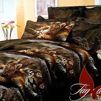 Комплект постельного белья поликоттон «BP040» TAG