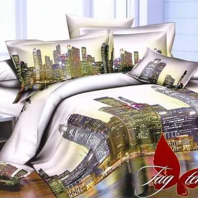 Комплект постельного белья полисатин «PS-NZ2192» TAG