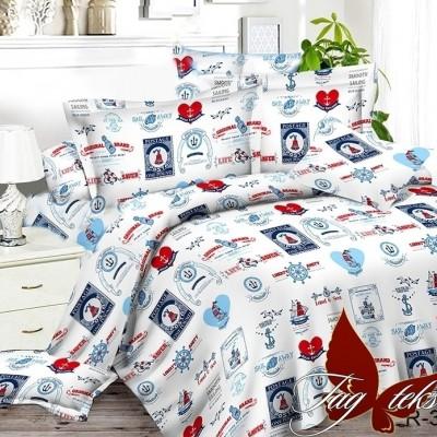 Комплект постельного белья ранфорс «R3016» TAG