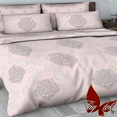 Комплект постельного белья сатин люкс «S-137» полуторный | TAG