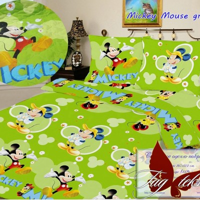 Стеганное покрывало-одеяло «Mickey Mouse» TAG