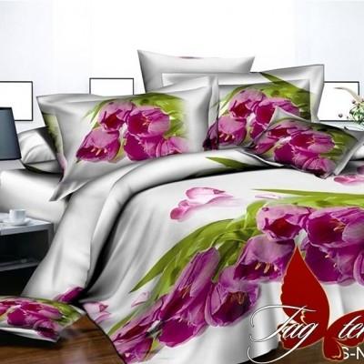 Комплект постельного белья полисатин «PS-NZ 2477» TAG