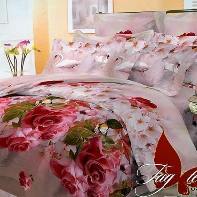 Комплект постельного белья поликоттон «BR7828» TAG