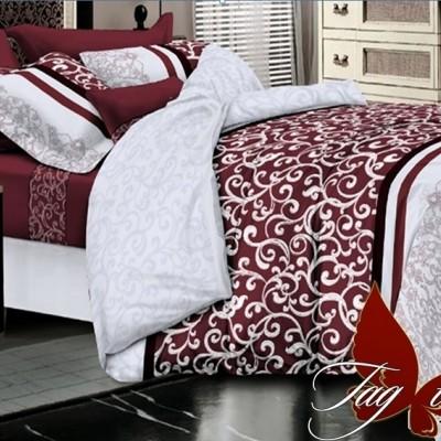 Комплект постельного белья полисатин «PS-NZ 2488» TAG
