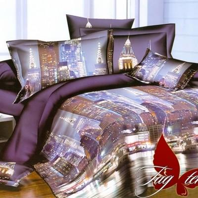 Комплект постельного белья полисатин «PS-NZ2190» TAG