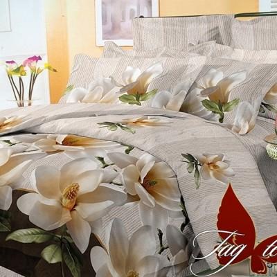 Комплект постельного белья поликоттон «BR3302» TAG