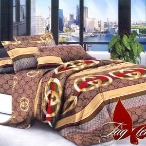 Комплект постельного белья полисатин «PS-NZ179» TAG