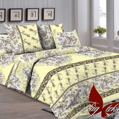 Комплект постельного белья ранфорс «R-6873» евростандарт   TAG