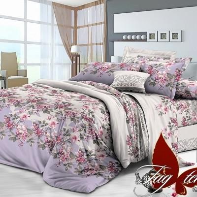 Комплект постельного белья сатин люкс «S-084» полуторный | TAG