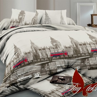 Комплект постельного белья поплин «TM-3204Z» TAG
