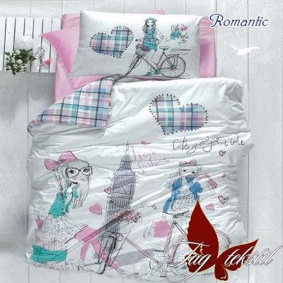 Комплект постельного белья ранфорс «Romantic» TAG