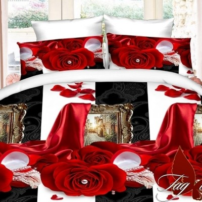 Комплект постельного белья полисатин «PS-NZ1943» TAG