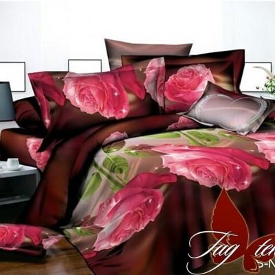 Комплект постельного белья полисатин «PS-NZ 2478» TAG