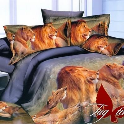 Комплект постельного белья полисатин «PS-NZ2191» TAG