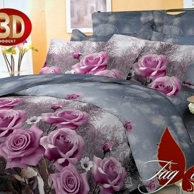 Комплект постельного белья поликоттон «BR039» TAG