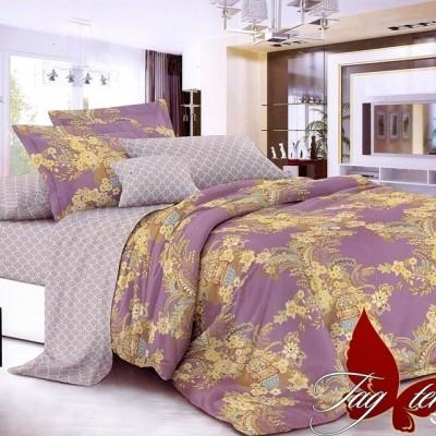 Комплект постельного белья сатин люкс «S-087» TAG