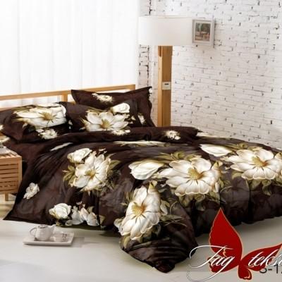 Комплект постельного белья сатин люкс «S-122» TAG