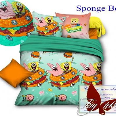 Стеганное покрывало-одеяло «Sponge Bob» TAG