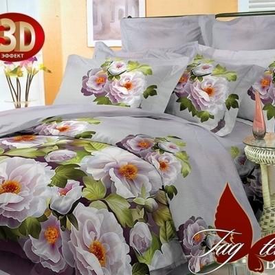Комплект постельного белья поликоттон «BR002» TAG