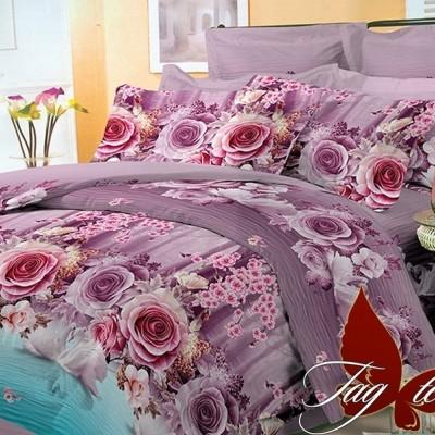 Комплект постельного белья поликоттон «BR003» TAG