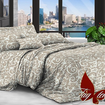 Комплект постельного белья поликоттон «xhy4547» TAG