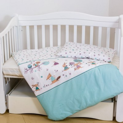 Детское постельное белье в кроватку Twins «Forest E-011»