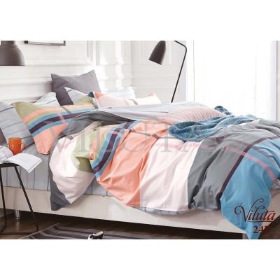 Комплект постельного белья «Satin Tvil-247» Viluta